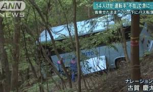 GUNMA: Bus Crash Injured 14