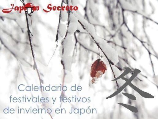 Calendario completo de Festivales y Festivos de Japón en invierno