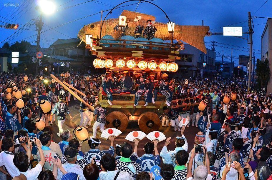 Gran Festival de Verano de Sawara @ Barrio de Sawara (Katori) | Katori | Chiba Prefecture | Japón