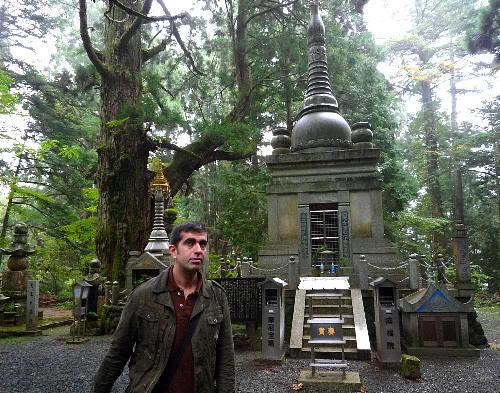 En uno de los cementerios más famosos de Japón