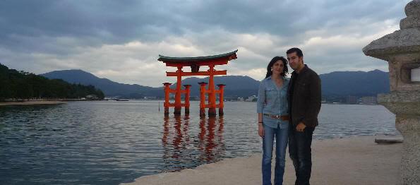 Visitando Miyajima por segunda vez en 2009
