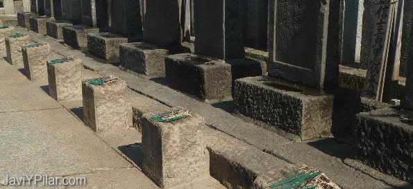 Tumbas de los 47 samurais ronin de Ako, en el Templo Sengakuji (Tokio)