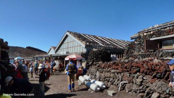 En la cima del monte Fuji (Japón, julio de 2011). Guía para subir al Fuji