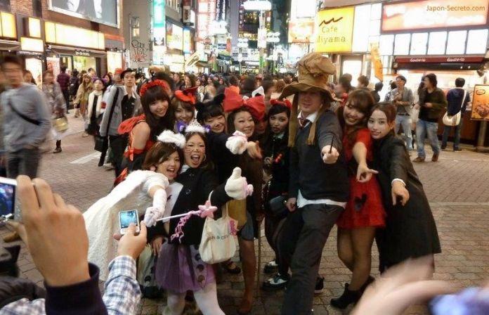 Halloween en Tokio: Shibuya (foto de 2011)
