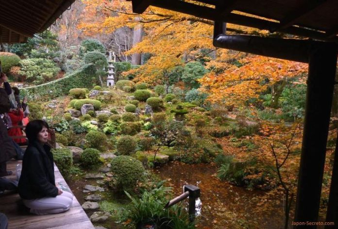 Kioto en otoño: Ōhara (大原). Jardines del templo Sanzen-in (三千院)