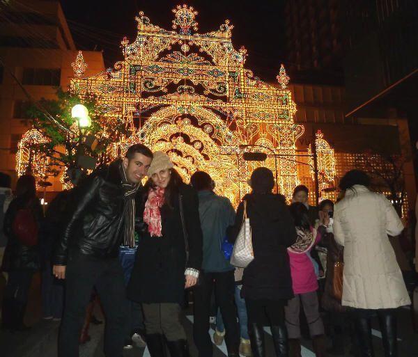 En el Kōbe Luminarie de 2012