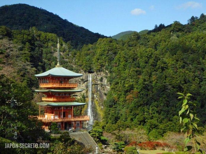 Pagoda de Nachi. Ruta de peregrinación Kumano Kodo. Japón