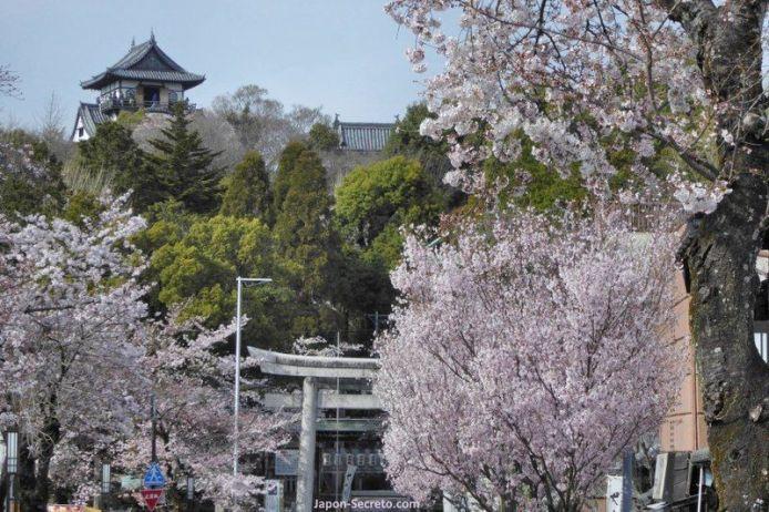 Lugares secretos de Japón en los que disfrutar de los cerezos (sakura) en flor: el castillo de Inuyama