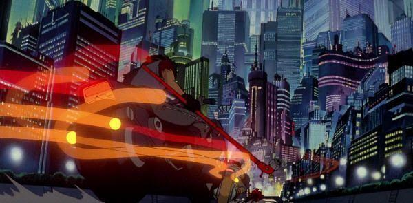 """La megalópolis de Neo-Tokio. """"Akira"""" (Katsuhiro Otomo, 1988)"""