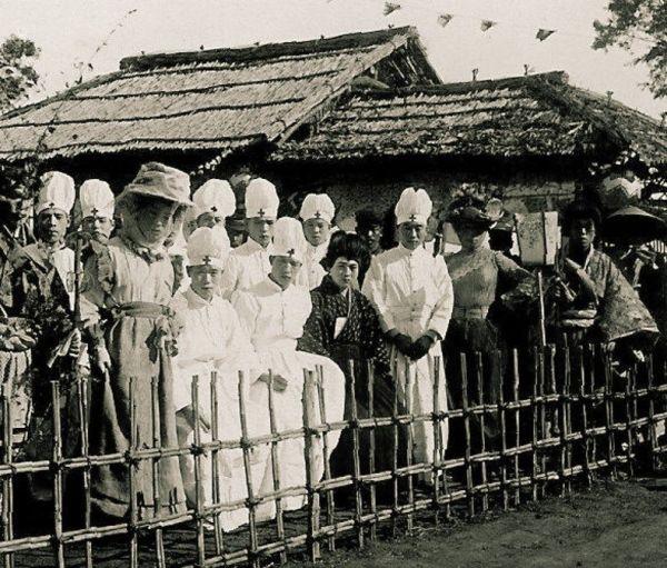 La desaparecida costumbre de disfrazarse de otra profesión para despistar a los demonios (oni) durante la celebración de Setsubun en Japón