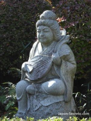 Benzaiten, uno de los siete dioses de la fortuna de Japón