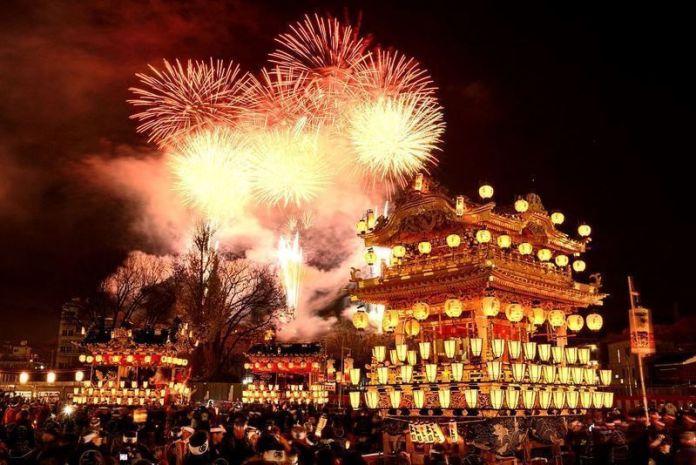Festivales de Japón: el Chichibu Yomatsuri(秩父夜祭) o Festival Nocturno de Chichibu, en la prefectura de Saitama.