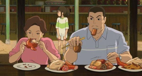 """¿Por qué los padres se convierten en cerdos en """"El Viaje de Chihiro""""?"""