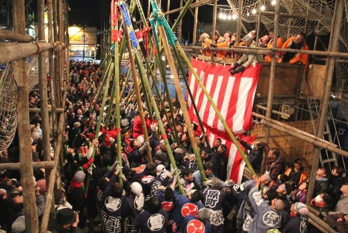 Festivales de Japón: Chochin Saomomi Matsuri en Koga (prefectura de Ibaraki)