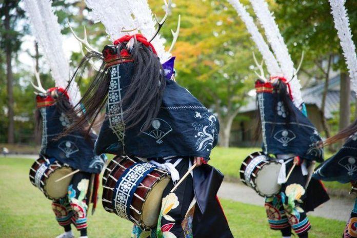 Festivales de Japón: el baile Shishi Odori del