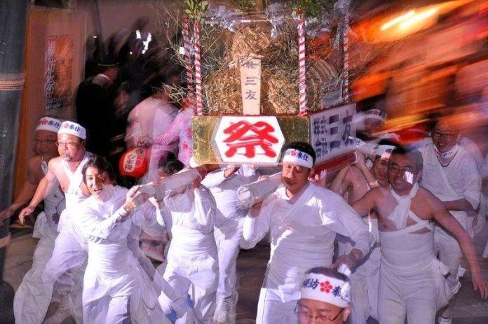Festivales de Japón: Hadakabō Matsuri(裸坊祭)o