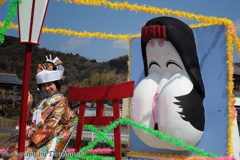 Hime No Miya Honen Matsuri, el festival de la fertilidad femenina @ Santuario Ōgata | Inuyama | Aichi Prefecture | Japón