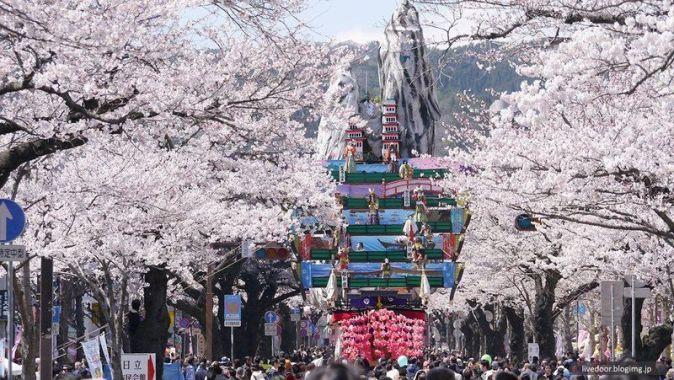 Festivales de Japón en primavera: el Hitachi Sakura Matsuri