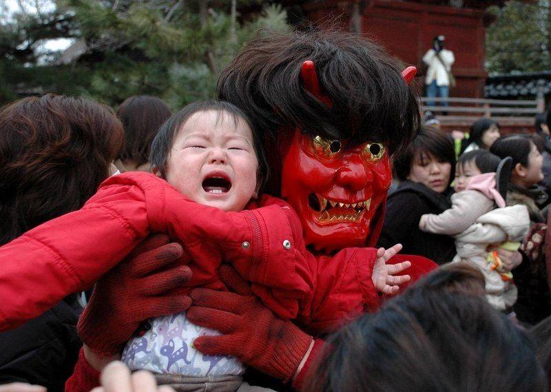 Oni Odori o Danza de los Ogros @ Templo Honjōji | Sanjō-shi | Niigata-ken | Japan