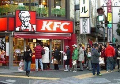 La tradición de comer pollo frito del KFC en la navidad de Japón