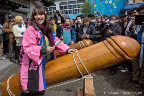 Festivales de penes y vaginas en Japón: el famoso Kanamara Matsuri de Kawasaki