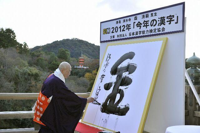 Kanji del año 2013: 輪 (anillo, círculo)
