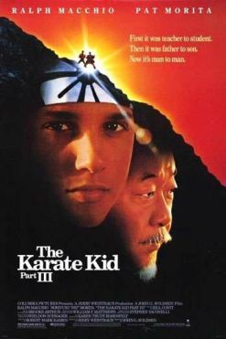 "Cartel de ""Karate Kid 3: el desafío final"""