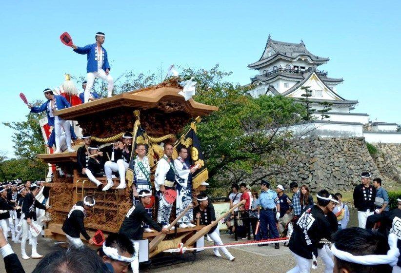 Kishiwada Danjiri Matsuri de octubre