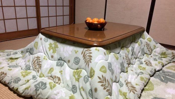 Invierno en Japón: el kotatsu, la mesa camilla de Japón