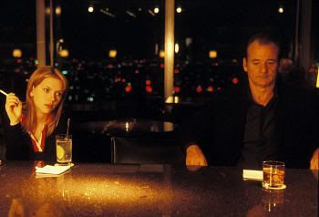 "Encuentro de Scarlett y Bill en el Park Hyatt de Tokio. ""Lost in Translation"" (Sofia Coppola, 2003)"