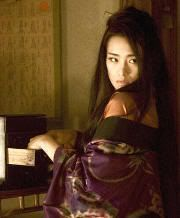 """La bella y malvada Hatsumomo. """"Memorias de una Geisha""""(""""Memoirs of a Geisha"""", 2005)"""