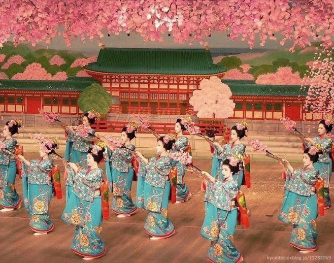 Festivales de geishas en Japón: Miyako Odori