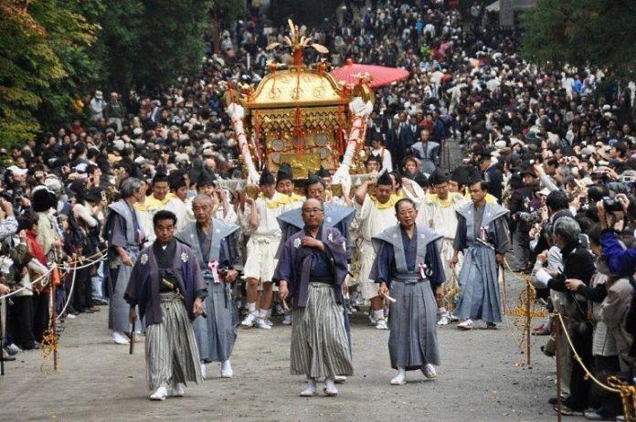 Festivales de Japón: Gran Festival de Otoño de Nikko en el Santuario Toshogu (秋季大祭)