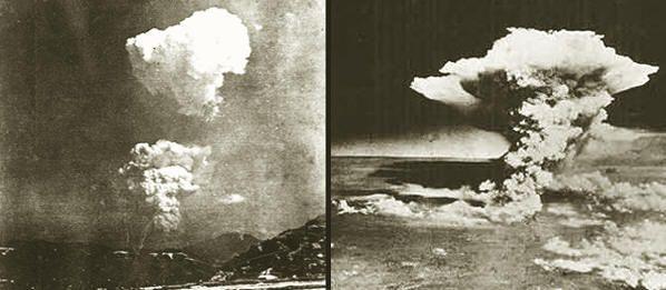 Nueva foto encontrada de la explosión de la bomba atómica sobre Hiroshima el 6 de agosto de 1945