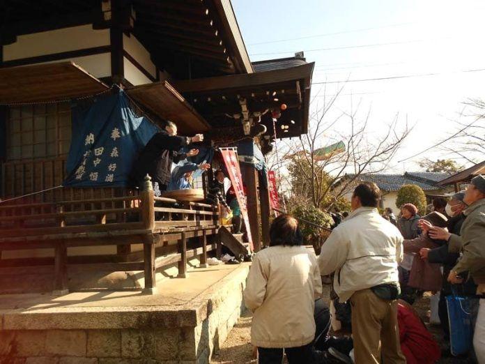 Festivales de Japón: Festival Setsubun en el templo Homanji de Nabari