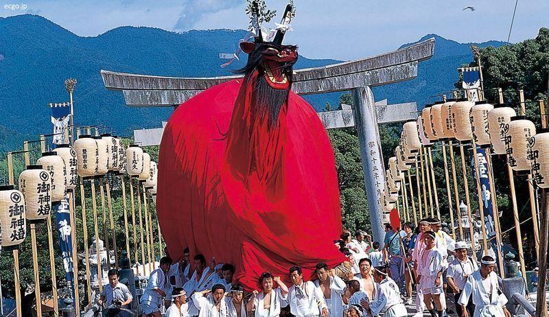 Ushi-Oni Matsuri, el festival del demonio-toro