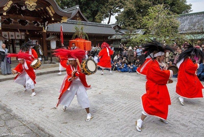 Yasurai Matsuri @ Santuario Imamiya | Kyoto | Kyoto Prefecture | Japón