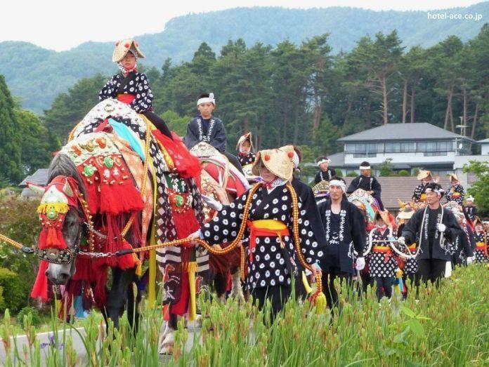 Festivales de Japón: el colorido y extraño desfile de caballos del Chagu Chagu Umakko de Morioka