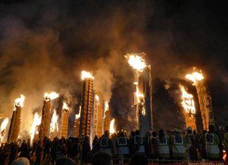 Festivales de Japón: el festival de fuego Taimatsu Akashi