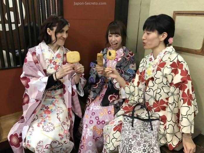 Cómo alquilar un kimono en Kioto para pasear. Alquiler diario