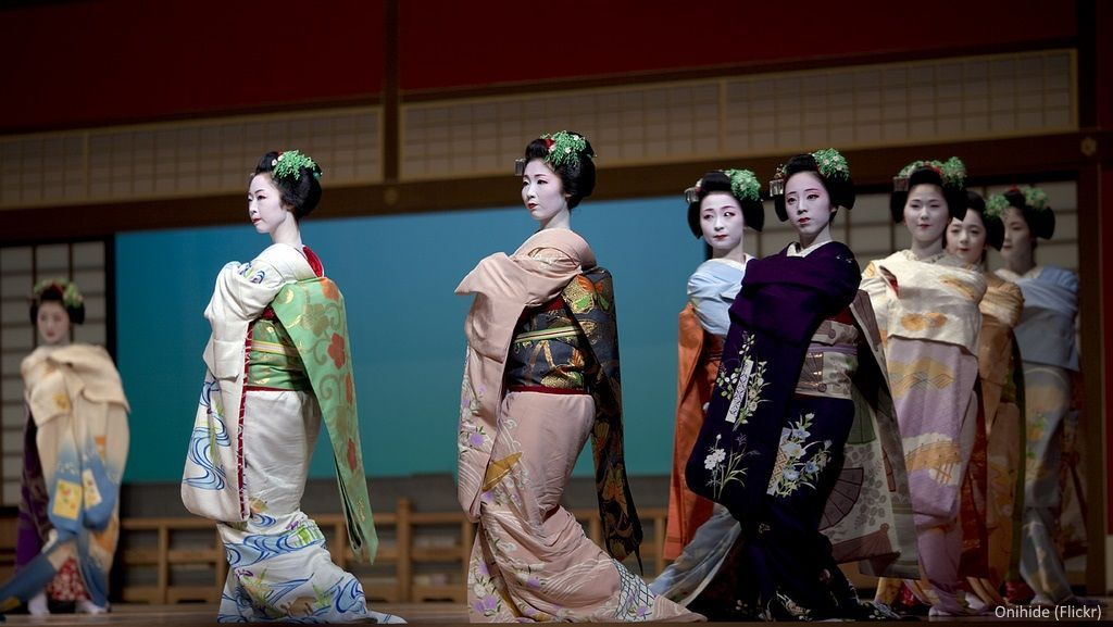 Festivales de Japón: festival de geishas Miyako No Nigiwai en junio en Kioto (Foto: Onihide, Flickr)