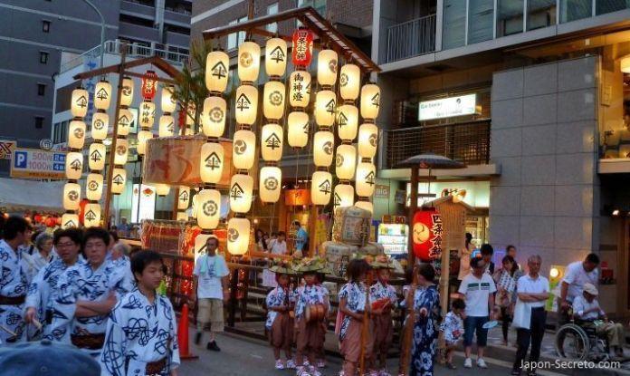 Gion Matsuri (Kioto, Japón). Julio de 2011