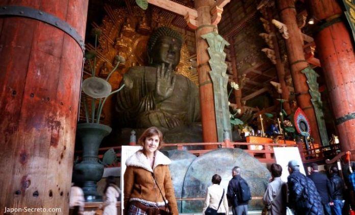 Viajar a Japón: excursión a Nara. Templo Todai-ji
