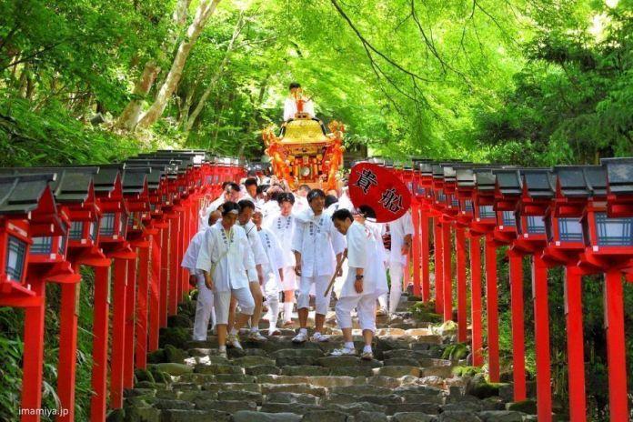 Festivales de Japón: el festival Kifune Matsuri, en junio, muy cerca de Kioto