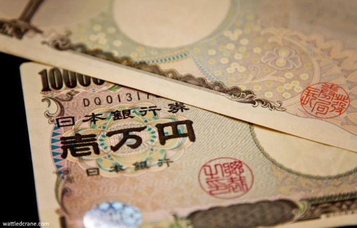 Cambiar dinero en Japón