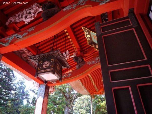 Dewa Sanzan: monte Haguro. Santuario Gosaiden