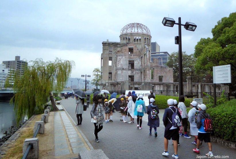 Ceremonia por el aniversario de la bomba atómica sobre Hiroshima @ Monumento de la Paz (Hiroshima) | Hiroshima | Hiroshima Prefecture | Japón