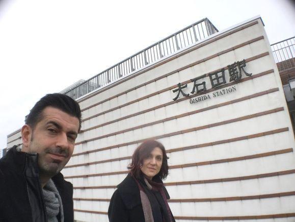 Viaje a Ginzan Onsen, pueblo balneario en la prefectura de Yamagata (Tohoku, Japón). Estación de Oishida.