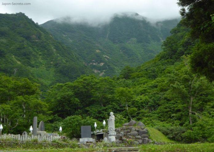 Japón. Ruta de peregrinación de las tres montañas de Dewa (Dewa Sanzan). Monte Yudono (Yudonosan).