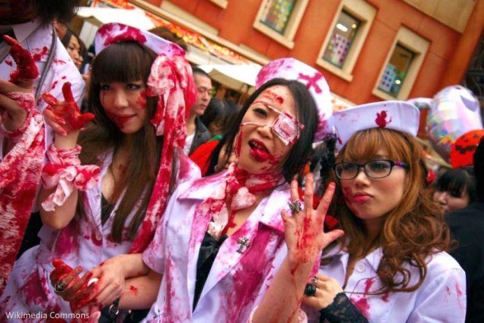 Halloween en Japón: fiesta en Kawasaki
